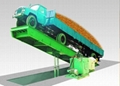 Hydraulic Tipping Truck Scale (ZCS