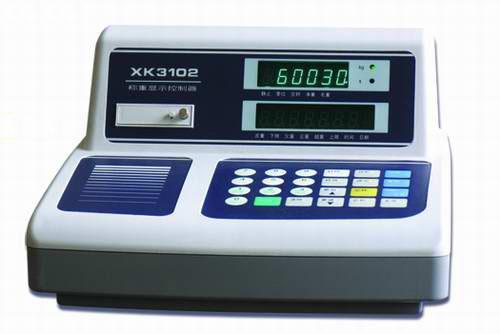 weighing indicator (XK3102D) 1