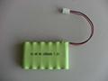 Battery Packs (NiMH 7.2V 6 * AA 1800mAh)