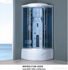 computerized steam shower room