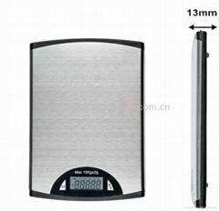 Slim&stainless steel kitchen scale