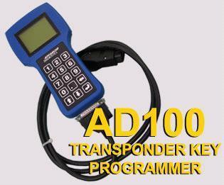 Car Key maker-AD100 Transponder Key Programmer,automobile decoder,repair tool 1