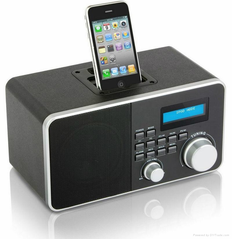 dab dab plus iphone digital radio retro style bc 800ida. Black Bedroom Furniture Sets. Home Design Ideas
