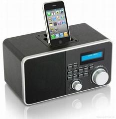 DAB DAB Plus iPhone Digital Radio Retro style