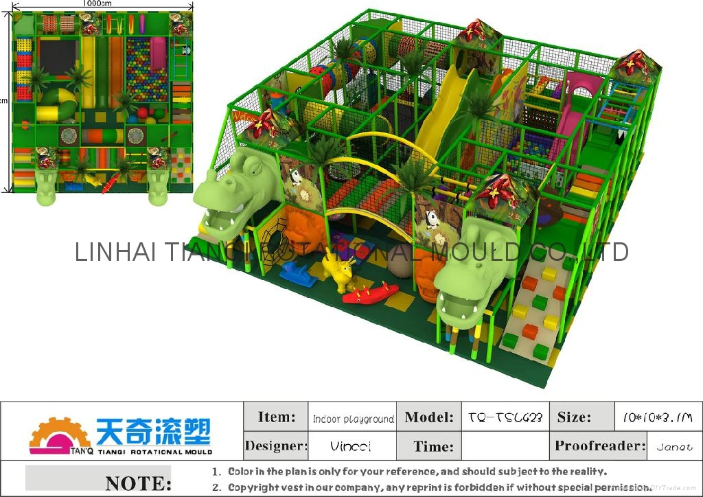 newest  colorfully  softy play equipment  with ball pool ,trampoline 3