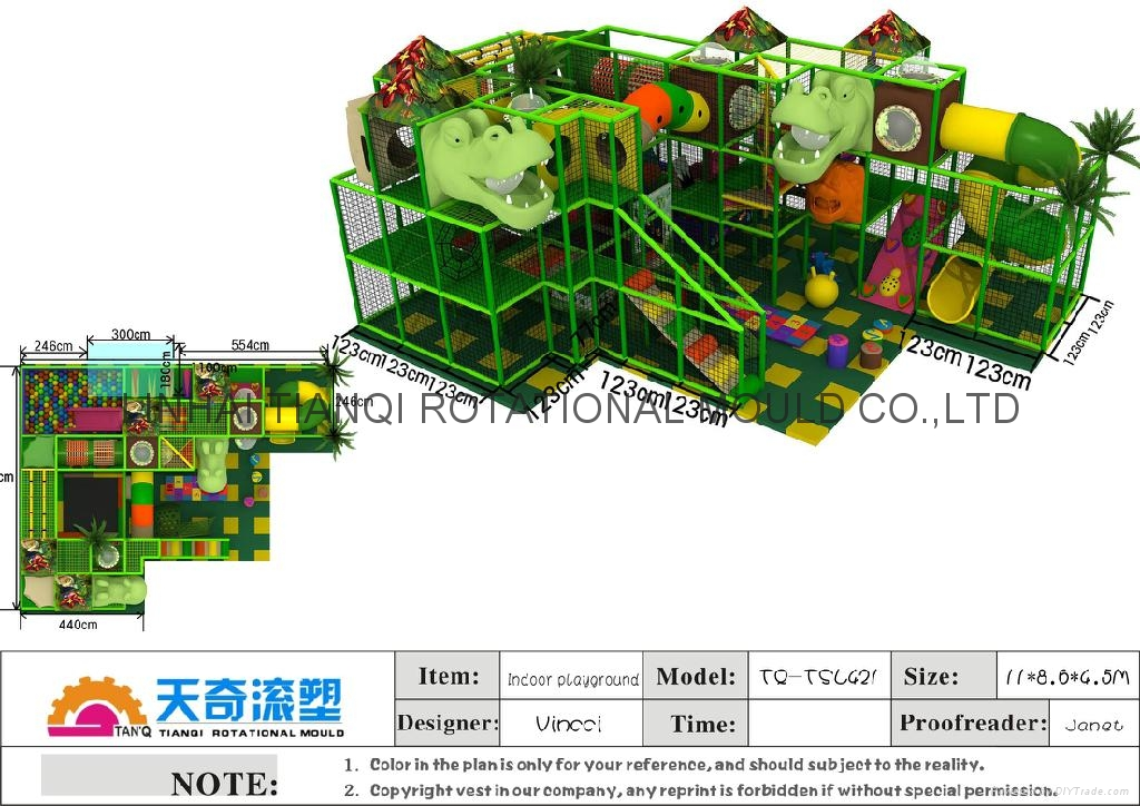 newest  colorfully  softy play equipment  with ball pool ,trampoline 5
