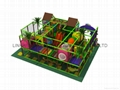 high quality  softy play equipment  with ball pool ,trampoline 3
