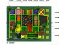 high quality  softy play equipment  with ball pool ,trampoline 4