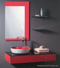 SL-305 Bathroom sink with mirror