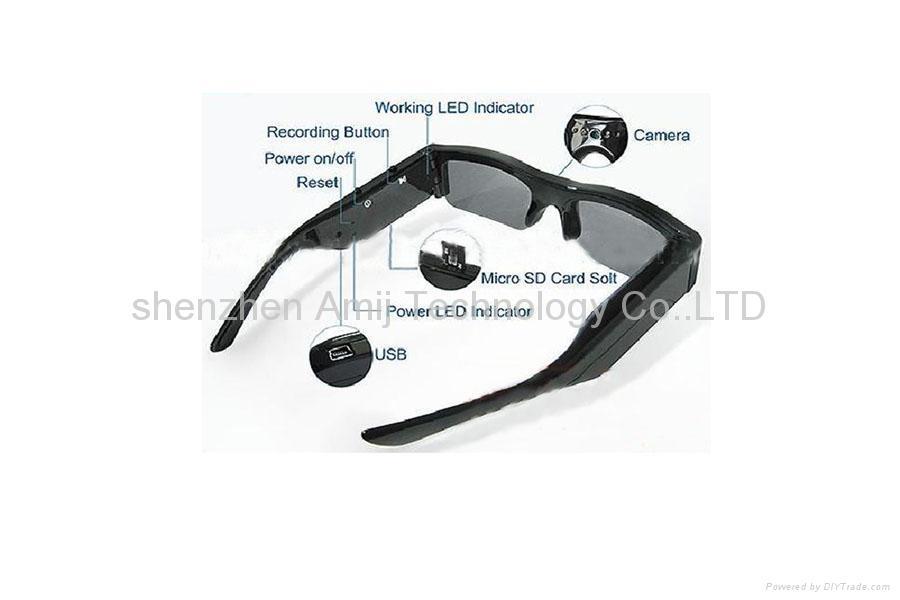 vedio camera sunglasses DVR 1