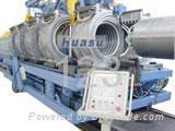pvc corrugated pipe mach