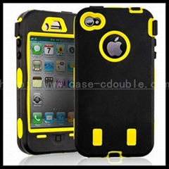 For iPhone 4/4gs defender case