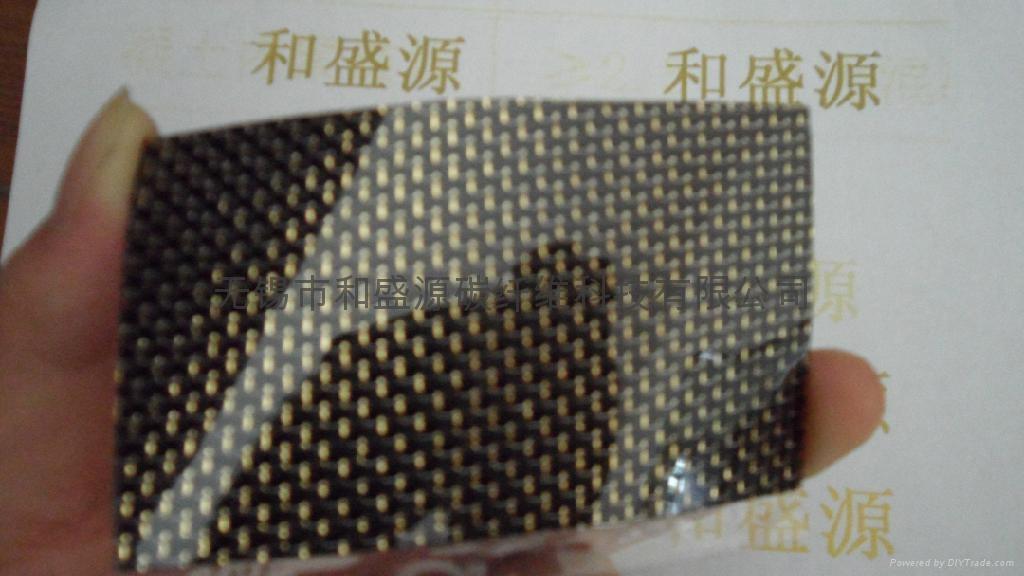 金銀絲碳纖維片 4