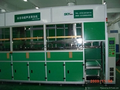 multi tank ultrasonic cleaner full automatic control