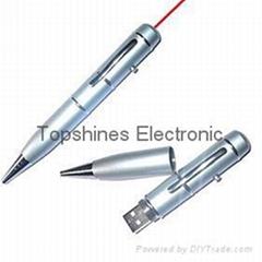 usb flash drive with laser pointer 1gb/2gb/4gb/8gb