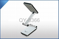 Rechargeable folding LED desk lamp