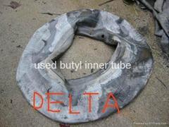 used butyl inner tube