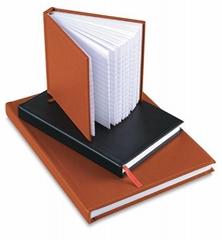 平装式笔记本,活页式笔记本,深圳真仿皮笔记本厂