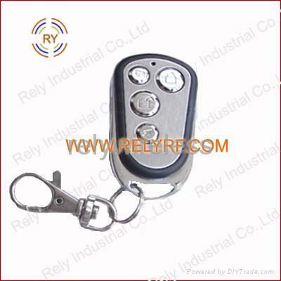Wireless remote key for car alarm system 1