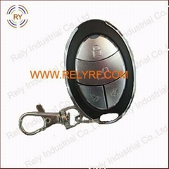 RF remote switch for security system