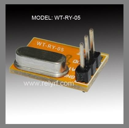 Wireless transmitter module for motorcycle alarm system 1