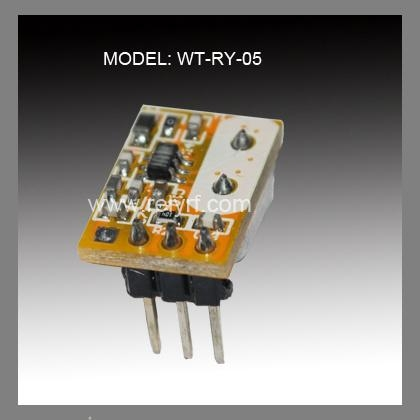 Wireless transmitter module for motorcycle alarm system 2
