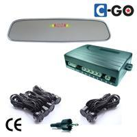 Rear & Front Mirror LED Parking Sensor System-6 sensor
