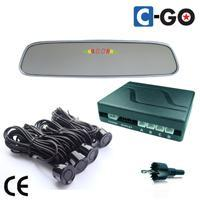 Review Mirror LED Parking Sensor System- Voice Type