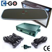 Rear&front parking sensors:Rearview VFD internal parking sensor