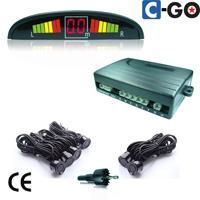 Rear & Front LED parking sensor with 6 sensors