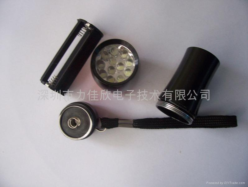 12LED手电筒广告促销礼品手电筒迷你款式 2