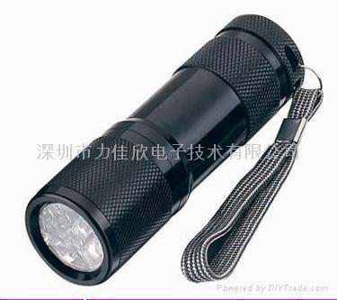 广告促销礼品手电筒9LED手电筒迷你款式 2