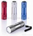 广告促销礼品手电筒9LED手电筒迷你款式 5