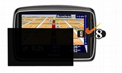 Privacy screen protector for 4.3 inch TomTom Go