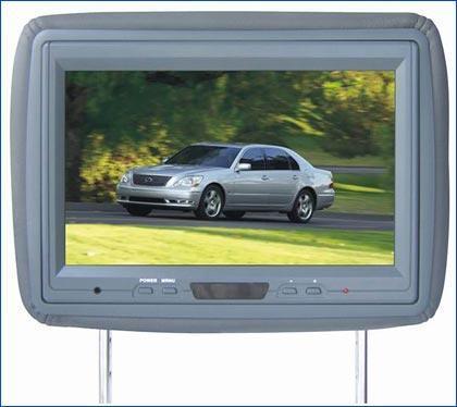 Headrest LCD Monitor(DVD Combo) 1