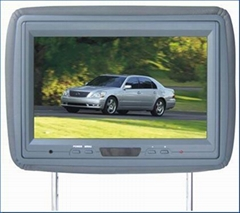 Headrest LCD Monitor(DVD Combo)
