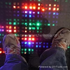 Crystal LED video dance floor stage(CLCVF-1600)
