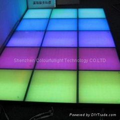 LED dance floor stage/light up wedding tile dance floor / led stage(CLFS-4)