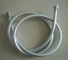 pvc silver shower hose