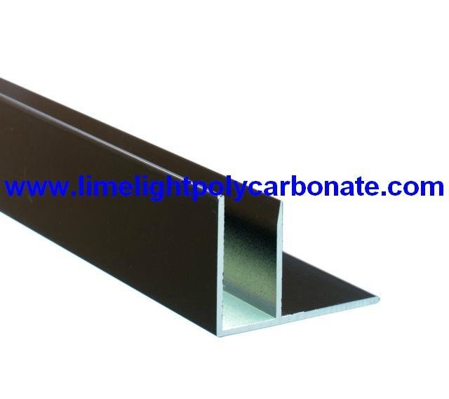 F profile aluminium
