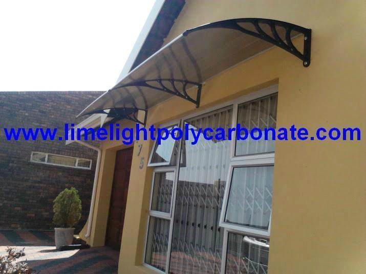 Diy Door Shelter : Awning canopy diy door window