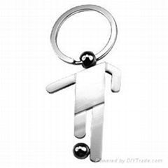 key chain/pvc key ring/promotion gift/lesther key chain/metal key ring