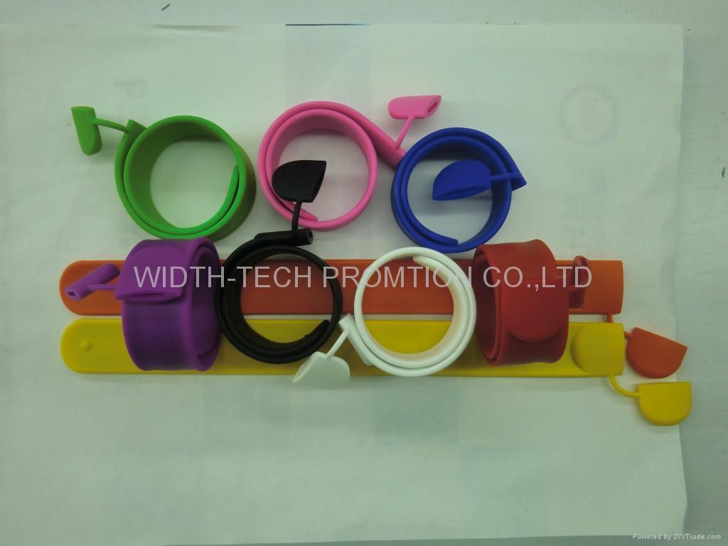 wirstband wrist /Silicone usb flash disk 1