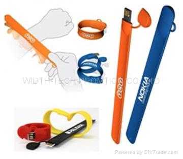wirstband wrist /Silicone usb flash disk 2