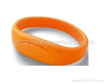 wirstband wrist /Silicone usb flash disk 5