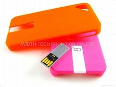 iPhone 手机保护壳U盤