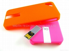 iPhone case usb flash drive
