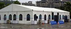 上海快速搭建展覽篷房雨棚