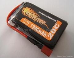 Li-po battery 1300mAh for hobby models