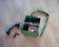 HCX-3磁石電話機、交換機、被復線